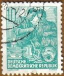 Sellos de Europa - Alemania -  Trabajador de Industria