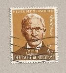 Stamps Germany -  Raiffeisen, benefactor de la humanidad