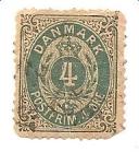 Stamps Denmark -  correo terrestre