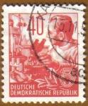 Stamps Germany -  Trabajador de Laboratorio