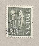 Stamps Norway -  Pez y espiga