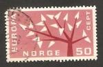 Sellos de Europa - Noruega -  Europa Cept