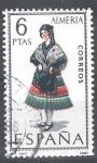 Stamps Spain -  Trajes.  Almería.
