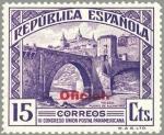Sellos de Europa - España -  ESPAÑA 1931 622 Sello Nuevo III Congreso Union Postal Panamericana Puente de Alcantara Toledo OFICIA