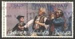 Stamps United States -  II centº de la independencia de los estados unidos