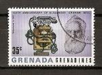 Stamps America - Grenada -  Centenario del primer enlace telefonico