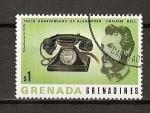 Sellos de America - Granada -  Centenario del primer enlace telefonico.