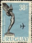 Stamps Uruguay -  Correo aéreo.