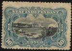 Stamps Europe - Belgium -  Congo Belga. Cataratas Stanley, hoy cataratas Boyoma.