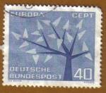 Sellos de Europa - Alemania -   Europa - CEPT