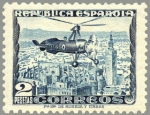 Sellos de Europa - España -  ESPAÑA 1935 689 Sello Nuevo Autogiro C-30 La Cierva