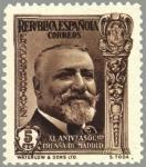 Stamps Spain -  ESPAÑA 1935 697 Sello Nuevo XL Aniversario Asociación de la Prensa José Francisco Rodriguez
