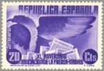 Sellos de Europa - España -  ESPAÑA 1936 716 Sello Nuevo XL Aniversario Asociación de la Prensa Alegoría Prensa