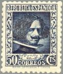 Sellos de Europa - España -  ESPAÑA 1936 738 Sello Nuevo Personajes Diego Velazquez (1599-1660)