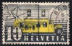 Stamps Switzerland -  OFICINA DE CORREOS MOVIL.