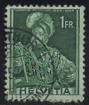 Sellos de Europa - Suiza -  LUDWIG PFYFFER 1524-1594.