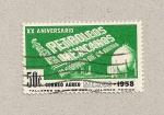 Sellos de America - México -  XX Aniv.Petroleos mexicanos