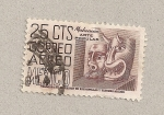 Stamps Mexico -  Arte popular:Michoacán