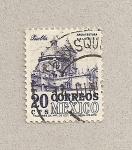 Sellos de America - México -  Arquitectura colonial:Puebla