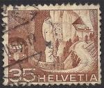 Stamps Switzerland -  CARRETERA ALPINA.