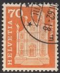 Sellos de Europa - Suiza -  San Pedro y San Esteban, Berllinzona.