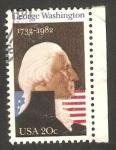 Sellos de America - Estados Unidos -  250 anivº del nacimiento de george washington