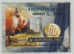 Stamps Honduras -  Banco del País