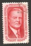 Stamps : America : United_States :  herbert hoover, 31 presidente