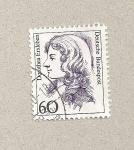 Stamps Germany -  Dorothea Erxleben