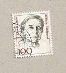 Sellos de Europa - Alemania -  Therese Giehse