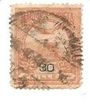 Sellos de Europa - Hungría -  correo terrestre