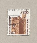 Stamps Germany -  Castillo de Hambacher