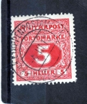 Stamps : Europe : Bosnia_Herzegovina :  Taxa