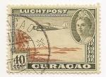 Stamps America - Netherlands Antilles -  Avión