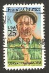Stamps : America : United_States :  francis ouimet, jugador de golf