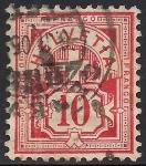 Sellos de Europa - Suiza -  Numeral.