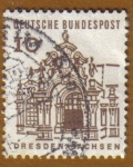 Stamps Germany -  DRESDEN-SACHSEN