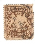 Stamps Europe - Germany -  Estados antiguos (Bavaria) yvert n29