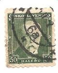 Sellos de Europa - Checoslovaquia -  correo terrestre