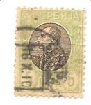 Stamps Germany -  ocupacion en Serbia