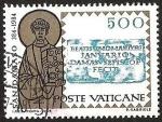 Sellos de Europa - Vaticano -  SAN DAMASO