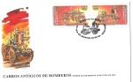 Stamps Chile -  CARROS ANTIGUOS DE BOMBEROS