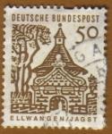 Stamps Germany -  ELLWANGEN-JAGST