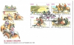 Stamps America - Chile -  EL RODEO CHILENO