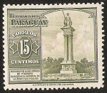 Stamps Paraguay -  MONUMENTO