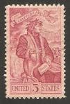 Stamps United States -  VII centº del nacimiento del poeta italiano dante alighieri