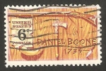 Stamps United States -  daniel boone