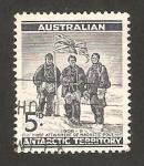 Stamps Oceania - Australian Antarctic Territory -  david, mawzon y mc kay, expedición de 1908-09