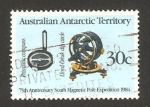 Stamps Oceania - Australian Antarctic Territory -  61 - 75 anivº de la expedición al Polo Sur
