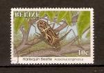 Stamps Belize -  HARLEQUÍN   BEETLE